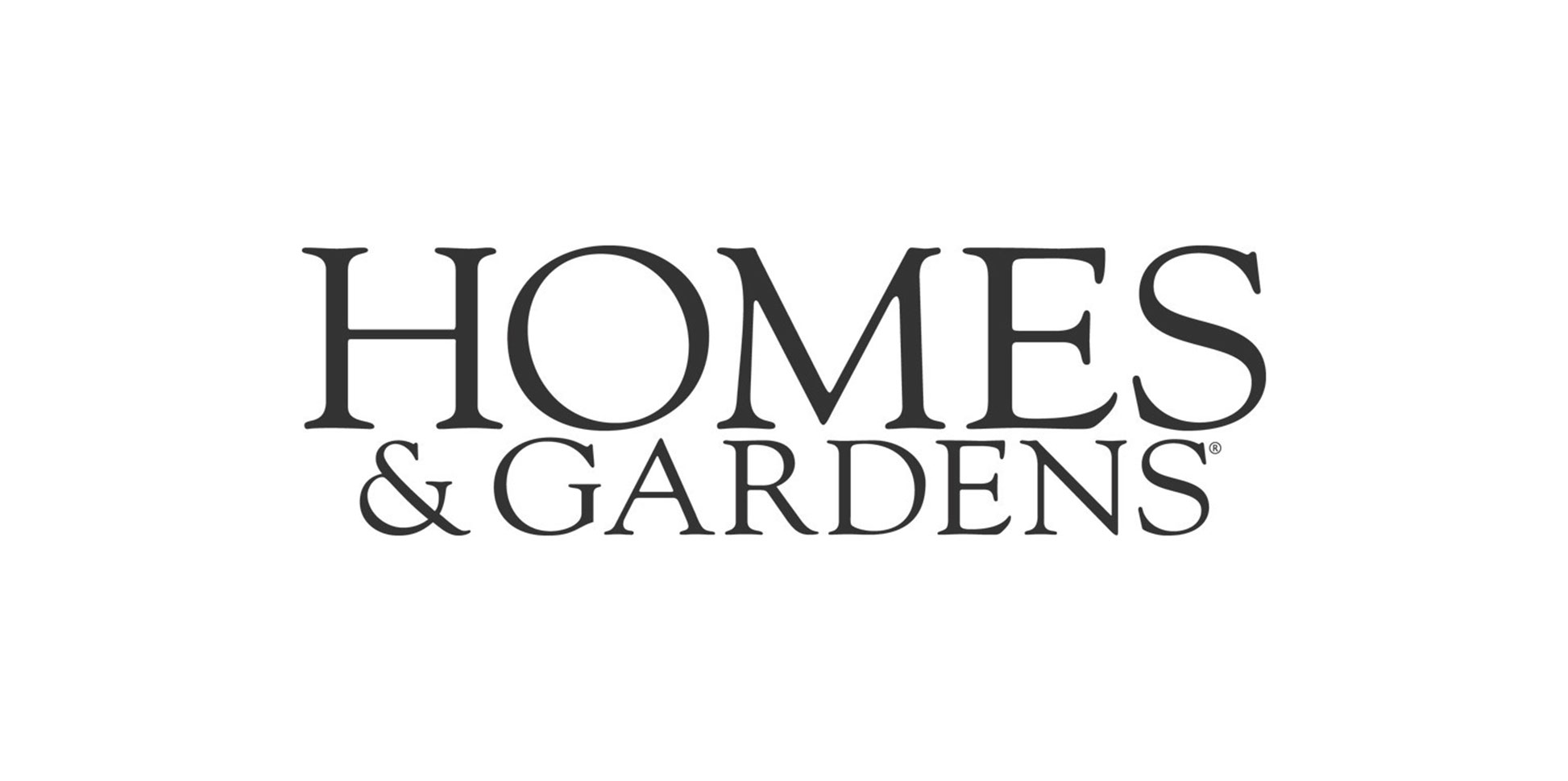 Homes and gardens logo Homes and gardens logo